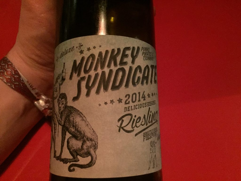 Monkey Syndicate Riesling 2014
