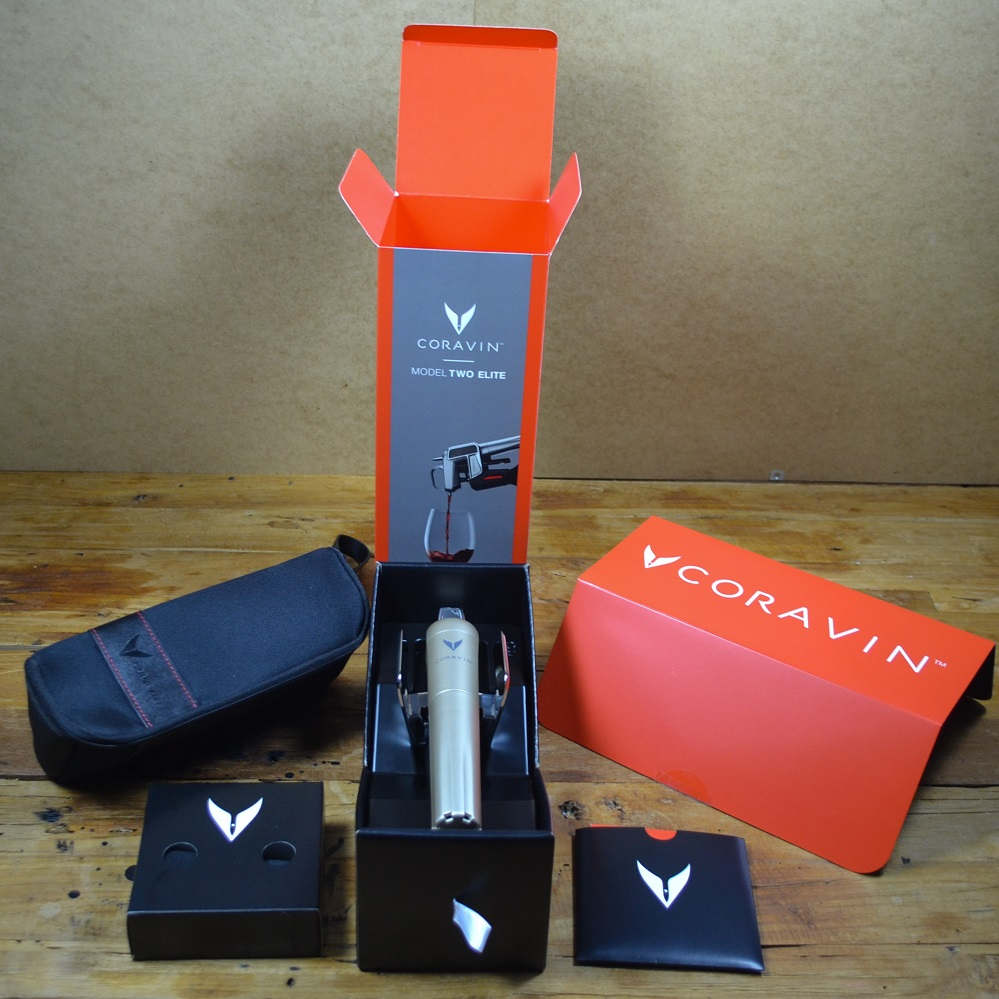 CORAVIN™ MODEL TWO ELITE Lieferumfang