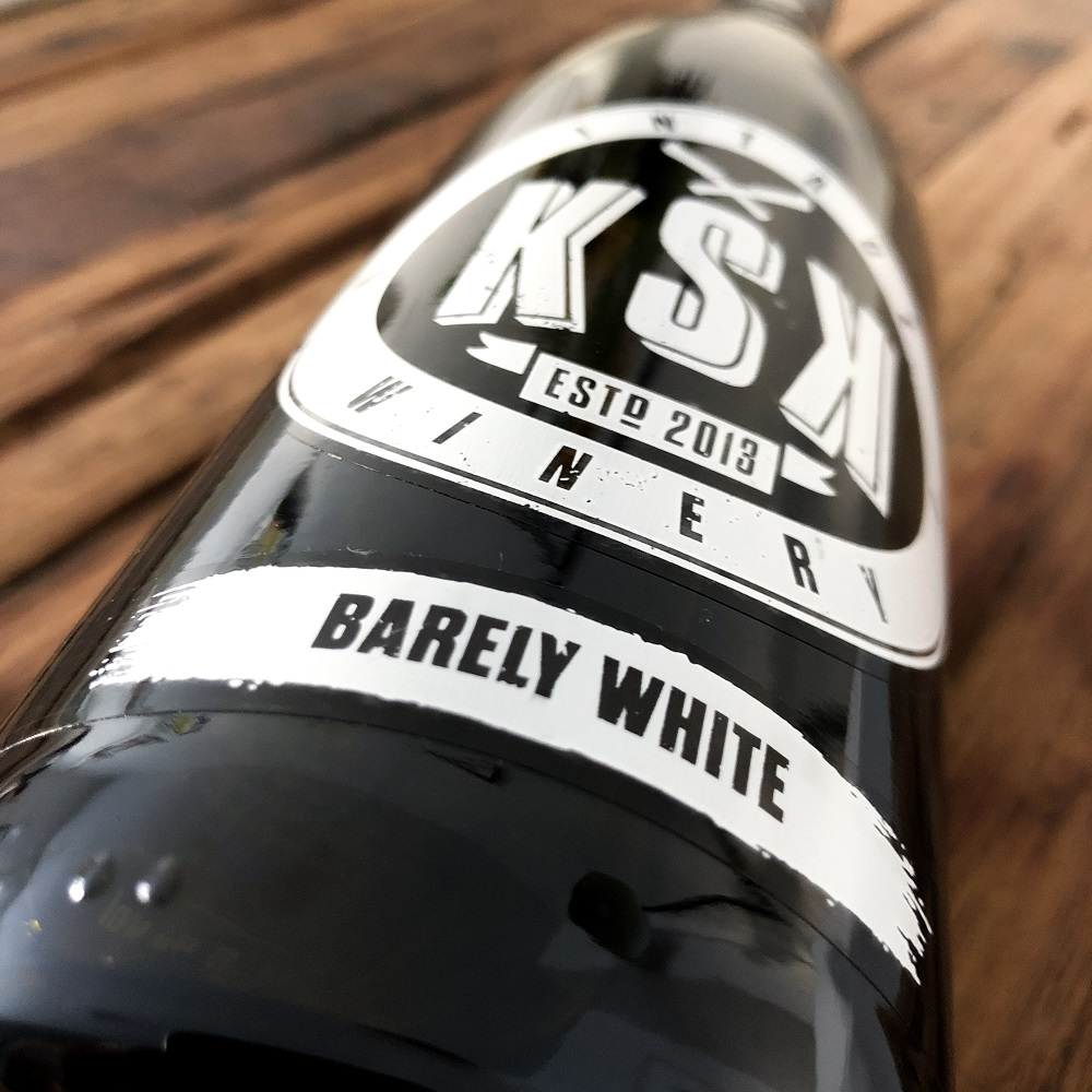 KSK Vintage Winery barely white
